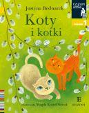 Okładka ksiązki - Koty i kotki. Czytam sobie. Poziom 1