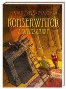Okładka ksiązki - Konserwator z Warszawy