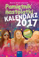 Okładka książki - Pamiętnik Nastolatki. Kalendarz 2017