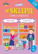Okładka ksiązki - W sklepie Zgaduj i naklejaj