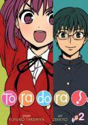 Okładka ksiązki - Toradora tom 2