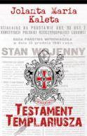 Okładka książki - Testament Templariusza