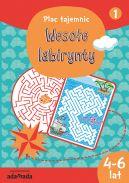 Okładka ksiązki - Wesołe labirynty 1 (4-6 lat)