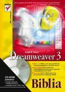 Okładka ksiązki - Dreamweaver 3. Biblia