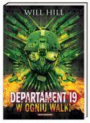 Okładka ksiązki - Departament 19. W ogniu walki