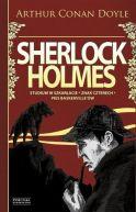 Okładka ksiązki - Sherlock Holmes, tom 1