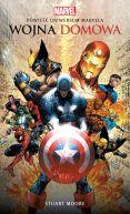 Okładka - Wojna domowa. Powieść Uniwersum Marvela