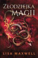 Okładka - Złodziejka magii