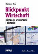 Okładka ksiązki - Blickpunkt Wirtschaft. Niemiecki w ekonomii i biznesie  Wydanie 2 uzupełnione