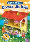 Okładka - Domek dla lalek. Zrób to sam