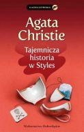 Okładka książki - Tajemnicza historia w Styles