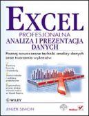 Okładka - Excel. Profesjonalna analiza i prezentacja danych