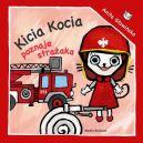 Okładka książki - Kicia Kocia poznaje strażaka