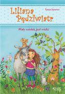 Okładka książki - Liliana Pędziwiatr. Mały osiołek jest wielki