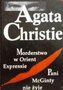 Okładka ksiązki - Morderstwo w Orient Expressie; Pani McGinty nie żyje