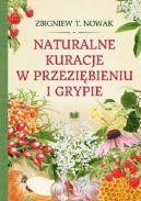 Okładka ksiązki - Naturalne kuracje w przeziębieniu i grypie