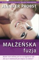 Okładka książki - Małżeńska fuzja