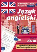 Okładka - Język angielski. Sprawdź umiejętność korzystania z praktycznych zwrotów do codziennej komunikacji, czyli funkcji językowych. A2-B1