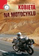 Okładka książki - Kobieta na motocyklu