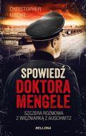 Okładka ksiązki - Spowiedź doktora Mengele