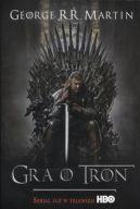 Okładka ksiązki - Gra o tron