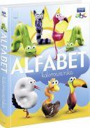 Okładka książki - Alfabet kolorowanka