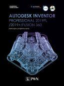 Okładka ksiązki - Autodesk Inventor Professional 2019PL / 2019+ / Fusion 360. Metodyka projektowania (+ płyta CD)