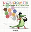 Okładka ksiązki - Uczuciometr inspektora Krokodyla