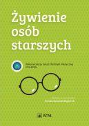 Okładka książki - Żywienie osób starszych. Rekomendacje Sekcji Dietetyki Medycznej POLSPEN