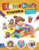 Okładka książki - Elementarz 3 latka. Akademia przedszkolaka