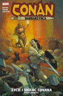 Okładka ksiązki - Życie i śmierć Conana, księga 1