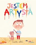 Okładka ksiązki - Jestem artystą