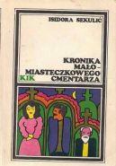 Okładka książki - Kronika małomiasteczkowego cmentarza