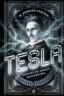 Okładka - Tesla. Geniusz na skraju szaleństwa
