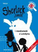 Okładka - Sherlock Junior i niedźwiedź z Londynu