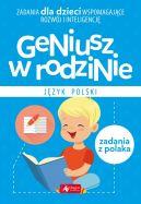 Okładka książki - Geniusz w rodzinie. Jezyk polski