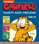 Okładka książki - Garfield. Tłusty koci trójpak. Tom 10