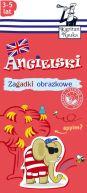 Okładka ksiązki - Zagadki obrazkowe. Angielski. 3-5 lat