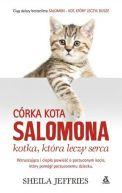 Okładka książki - Córka kota Salomona Kotka, która leczy serca