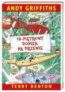 Okładka książki - 13-piętrowy domek na drzewie