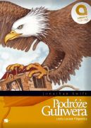 Okładka ksiązki - Podróże Guliwera. Podróż do Lilliputu. Podróż do Brobdignagu