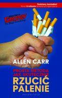 Okładka książki - Prosta metoda jak skutecznie rzucić palenie