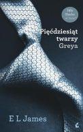 Okładka książki - Pięćdziesiąt twarzy Greya