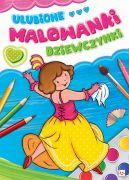 Okładka ksiązki - Ulubione malowanki dziewczynki