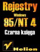 Okładka książki - Rejestry Windows 95/NT. Czarna księga