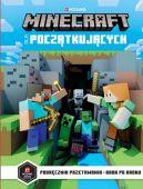Okładka książki - Minecraft dla początkujących. Podręcznik przetrwania- krok po kroku