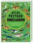 Okładka - Atlas przygód dinozaurów