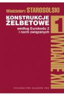 Okładka - Konstrukcje żelbetowe według Eurokodu 2 i norm związanych. Tom 1