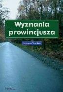 Okładka ksiązki - Wyznania prowincjusza