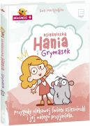 Okładka ksiązki - Księżniczka Hania i Grymasek . Przygody ciekawej świata księżniczki i jej małego przyjaciela